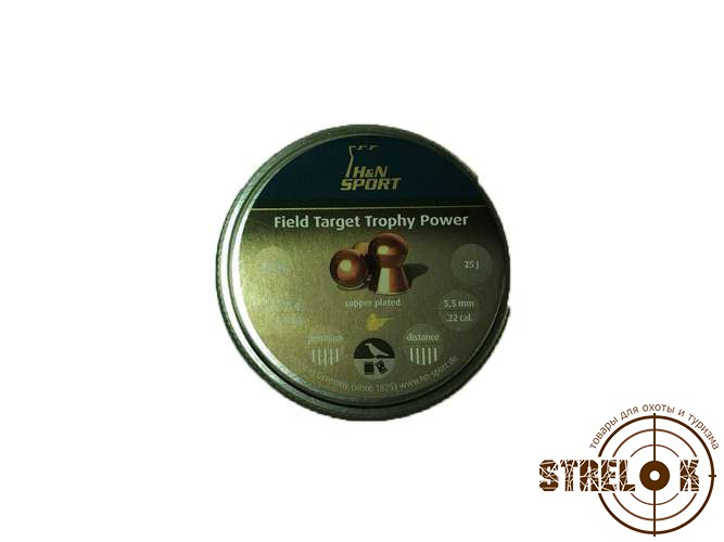 Пули H&N Field Target Trophy Power, 095гр, 200 шт