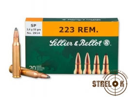 Патрон Sellier & Bellot 223REM SP