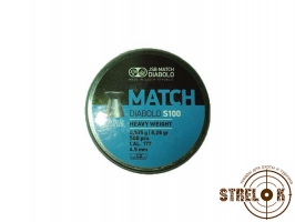 Пули JSB match Diabolo S 100 Heavy Weight, 0.535гр, 500шт