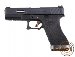 WE Glock 17 G-Force black silver